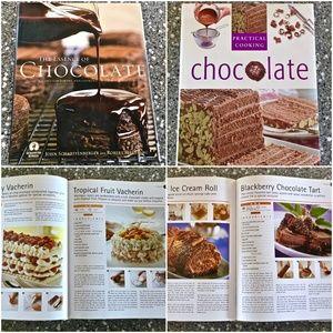 Two Chocolate Cookbooks